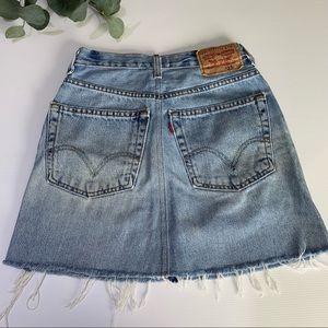 Levi's 505 Mini Skirt